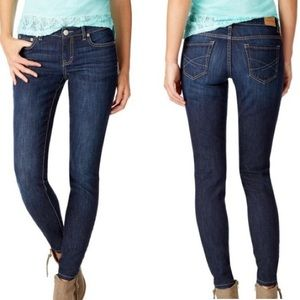 Aeropostale women's dark wash jeans